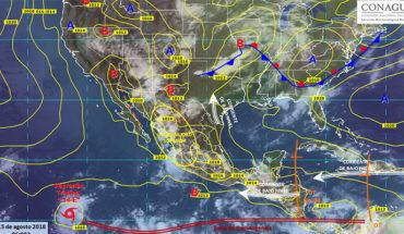 Pronostican tormentas, actividad eléctrica y posible caída de granizo en gran parte de la República Mexicana