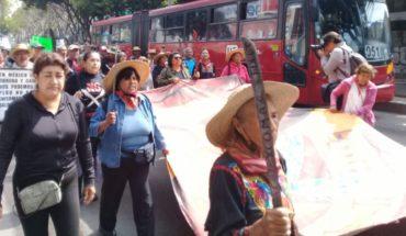 Pueblos de Atenco exigen a AMLO cancelación del NAIM