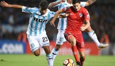 Racing no pudo aprovechar la expulsión de Ponzio y empató 0 a 0 con River