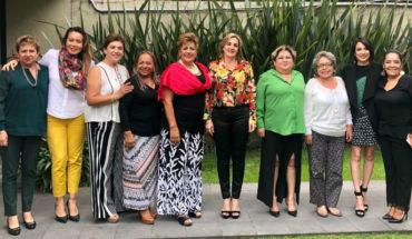 Ratifican a Yarabí Ávila en la Mesa Directiva de la Asociación Nacional de Mujeres Congresistas A.C