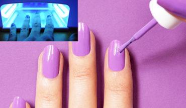 Rayos UV en la técnica de gelish en las uñas puede provocar cáncer, advierte especialista