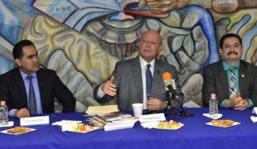Rector Juan Eulogio Guerra inaugura el ciclo escolar en la preparatoria UAS