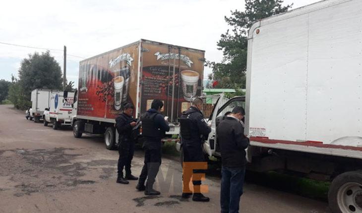 Recuperan seis vehículos comerciales retenidos por normalistas de Tiripetío