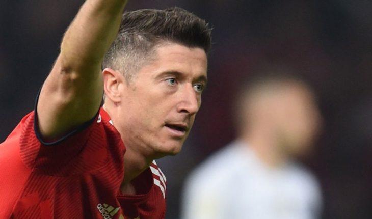 Robert Lewandowski critica a los dirigentes del Bayern Múnich