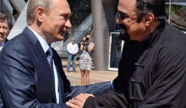 """Rusia nombró a Steven Seagal como """"enviado especial"""" para las relaciones con EEUU"""