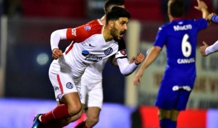 San Lorenzo reaccionó y empata con Tigre 2 a 2 en Victoria