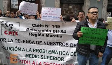 Sección XVIII de la CNTE exige auditoría al gobierno estatal y al sector educativo