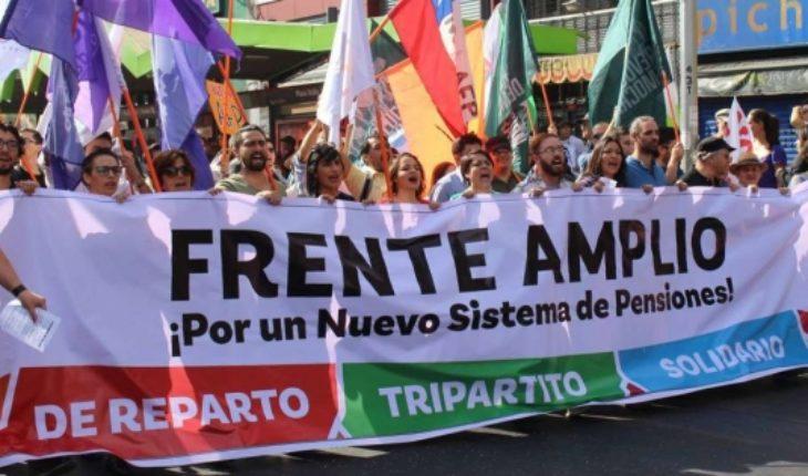 Sin acuerdo: la tensa convergencia de las fuerzas de izquierda en el Frente Amplio