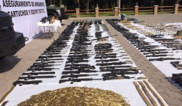 armas de fuego en México