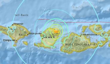 Terremoto de magnitud 6,3 en la isla indonesia de Lombok