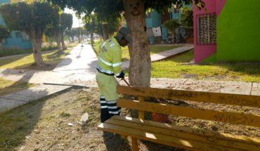 Trabajadores laboran arduamente para brindar servicios públicos de calidad: Ayuntamiento de Morelia