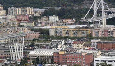 Tres chilenos murieron por el derrumbe de un puente en Génova