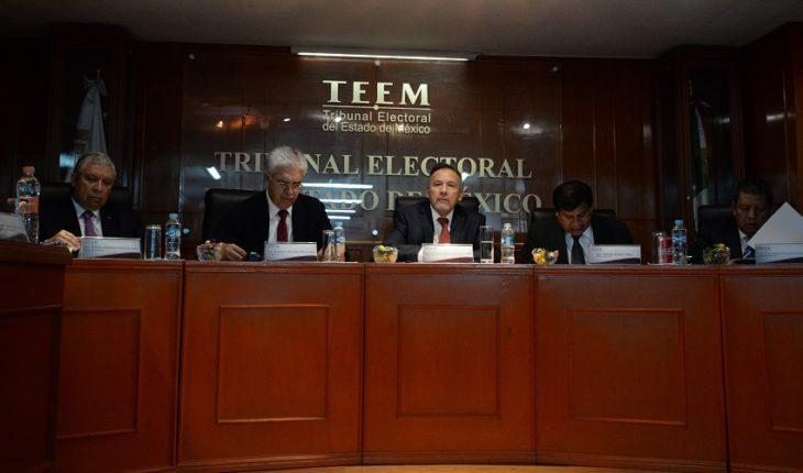 Tribunal Electoral del Edomex
