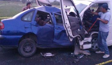 Un muerto y 15 heridos deja brutal choque en carretera