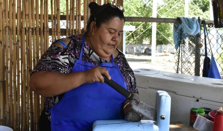 Un rico ceviche de almeja de La Reforma