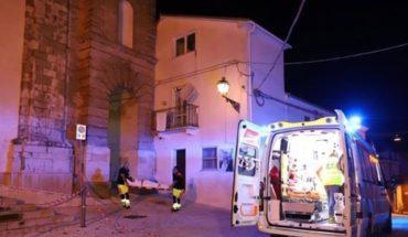 Un terremoto de 5,2 grados sacudió una parte de Italia