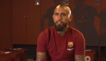 """[VIDEO] Arturo Vidal: """"Espero marcar un gol en el Camp Nou para poder sentir el aprecio de la gente"""""""