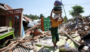 Van 387 fallecidos por terremoto en Indonesia