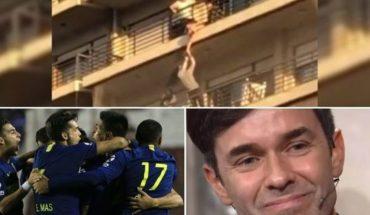Vecinos rescatan bebé colgando, sorpresa en Boca, la emoción de Mariano Martínez, Amadeo internado y mucho más...