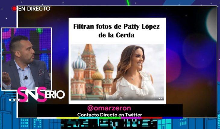 ¿Cómo fue la situación de las fotos de Patty Lopéz de la C? | SNSerio
