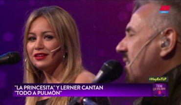 """Alejandro Lerner y la Princesita Karina cantaron """"Todo a Pulmón"""" en TLP"""