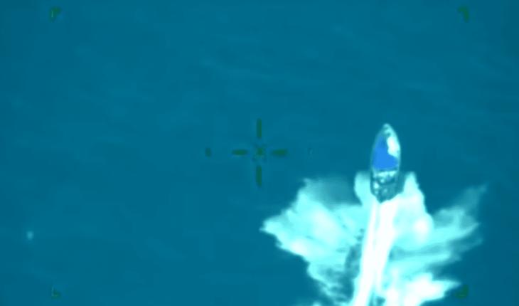 Video: Así capturó la Marina una lancha con 2 toneladas de cocaína