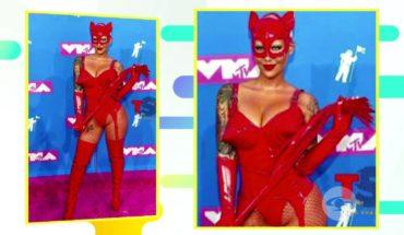 Así fue la alfombra rosa de los MTV Video Music Awards   Caracol TV
