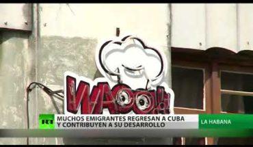 Aumenta número de emigrados que regresan a Cuba