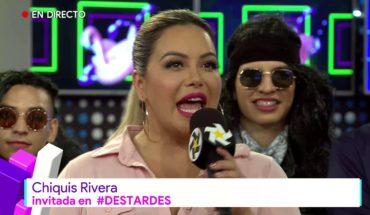 Chiquis Rivera invitada especial en #Destardes