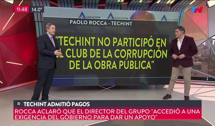 Corrupción: Techint admitió pagos
