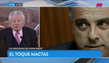 El toque Mactas: Las vergüenzas del Sr. Uberti