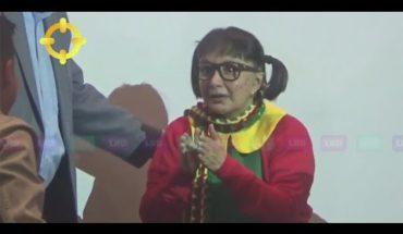 Fisgón: estas son las primeras imágenes de la Chilindrina en Colombia | Caracol TV