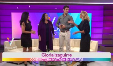 Gloria Izaguirre la invitada de la semana   Vivalavi