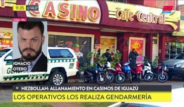Hezbollah: Allanamientos en casinos de Iguazú
