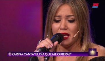 """La Princesita Karina cantó """"El día que me quieras"""" en TLP"""