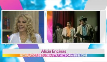 La trayectoria de Alicia Encinas en el cine