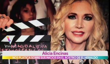 Los inicios de Alicia Encinas