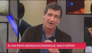 """Marcos Lavagna: """"El flan no alcanza para todos"""""""