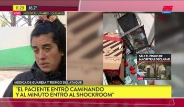 Sufrió un paro en una guardia de Quilmes y sus familiares rompieron todo