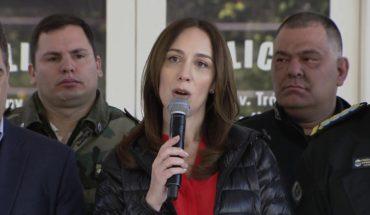 Vidal anunció nueva reforma de la Policía Bonaerense