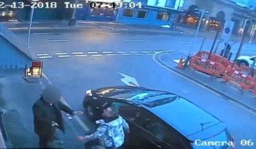 Video: hombre apuñala a su novia y se lanza del edificio