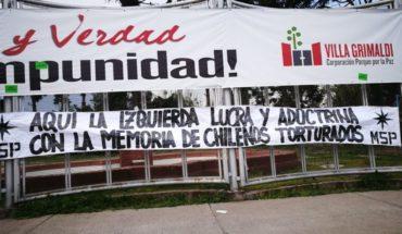 Villa Grimaldi denunció ataque del Movimiento Social Patriota en el día del Detenido Desaparecido