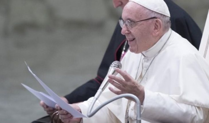"""Father Francisco encouraged to confront """"the culture of death"""", days after the rejection of the Senate abortion legal"""