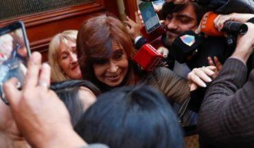 "Fernández Cristina de Kirchner declared by the ""cuadernos de corruption"" and denounces persecution against"