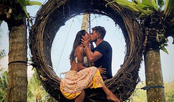 """Leandro Penna thanked Lisandra: """"Hope that life you give to the right person,"""" said the Argentine"""