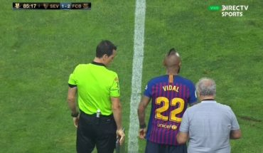 Title 19 of his career: Arturo Vidal made his debut in Barcelona, winning the Supercopa of Spain