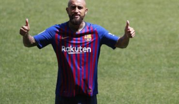 Arturo Vidal was summoned for the duel before the Alaves FC Barcelona