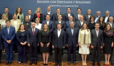 Asks EPN collaboration and respect with AMLO