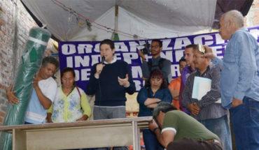 Ayuntamiento de Morelia entrega aditamentos a comerciantes de la Colonia Independencia