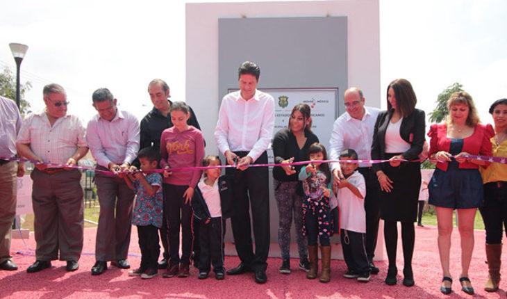 Ayuntamiento de Morelia inaugura espacio público en Villas de la Loma